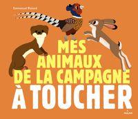 Couverture «Les animaux de la campagne à toucher»