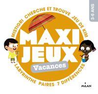 Couverture «Maxi-jeux – Vacances»
