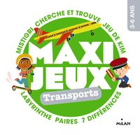 Couverture «Maxi-jeux – En voyage»