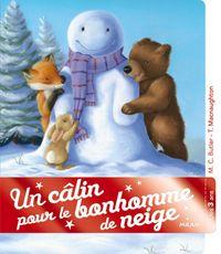 Couverture «Un câlin pour le bonhomme de neige»
