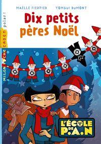 Couverture «Les dix petits pères Noël»