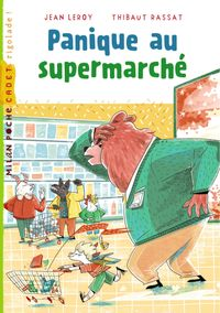 Couverture «Panique au supermarché»