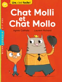 Couverture « Chat Molli et Chat Mollo »