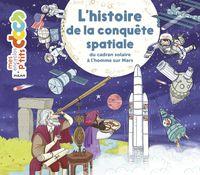 Couverture «L'histoire de la conquête spatiale»