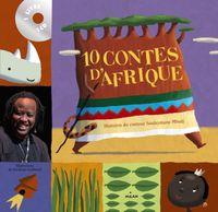 Couverture «10 contes d'Afrique + CD»