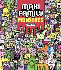 Cover of «Maxi Family Monstres»