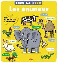 Couverture «Cache-cache docs – Les animaux»