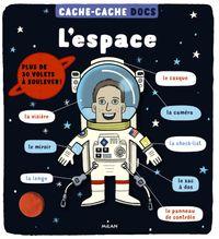 Couverture «Cache-cache docs – L'espace»