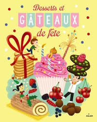 Couverture «Desserts et gâteaux de fête»