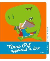Couverture «Gros-Pif apprend à lire»