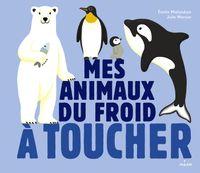 Couverture «Les animaux du froid à toucher»