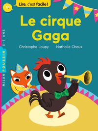 Cover of « Le cirque Gaga »
