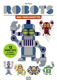 Couverture «Mes Parionnettes – Robots»