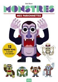Couverture «Mes Parionnettes – Monstres»