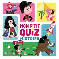 Couverture «Mon p'tit quiz histoire»