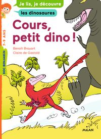 Cover of « Cours, petit dino ! »