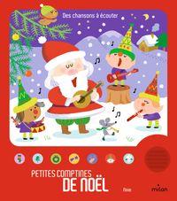 Couverture «Petites comptines de Noël»