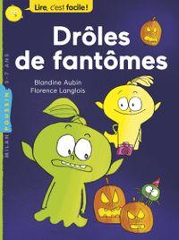 Cover of «Drôles de fantômes»