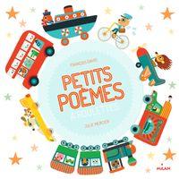 Couverture «Petits poèmes à roulettes»