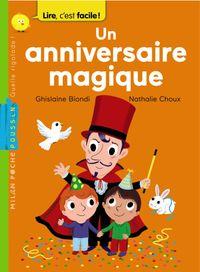Couverture «Un anniversaire magique»
