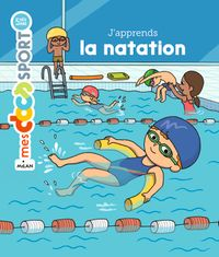 Couverture « J'apprends la natation »