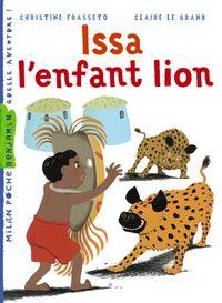 Couverture «Issa, l'enfant lion»