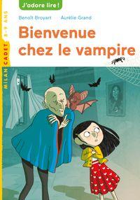Couverture «Bienvenue chez le vampire»