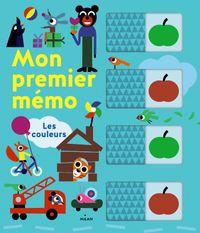 Cover of «Mon premier mémo – Les couleurs»