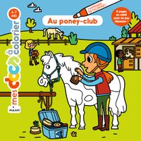 Couverture « Au poney-club »
