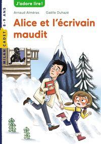 Couverture «Alice et l'écrivain maudit»