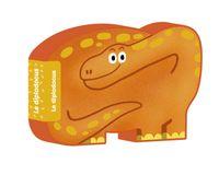 Couverture «Le diplodocus»