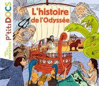 Couverture «L'histoire de l'Odyssée»