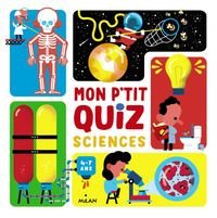 Cover of « Mon p'tit quiz sciences »