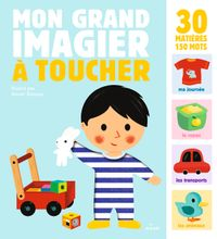 Cover of « Mon grand imagier à toucher »