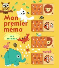 Cover of «Mon premier mémo – Les animaux»