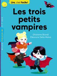 Couverture «Les trois petits vampires»