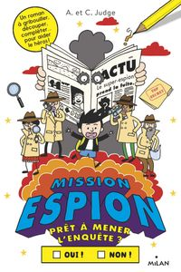 Couverture « Mission espion »