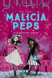 Couverture «Malicia Peps et la guerre des couleurs»