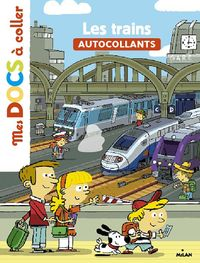 Cover of « Les trains »
