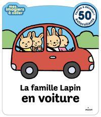 Couverture «La famille Lapin en voiture»