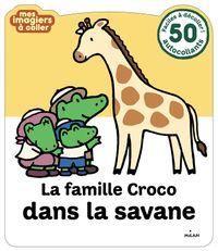 Couverture «La famille Croco dans la savane»
