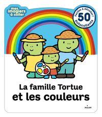 Couverture «La famille Tortue et les couleurs»