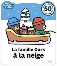 Cover of «La famille Ours à la neige»