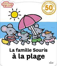 Couverture «La Famille Souris à la plage»