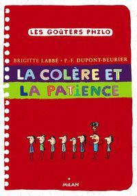 Couverture «La colère et la patience»