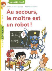 Couverture «Au secours, le maître est un robot !»