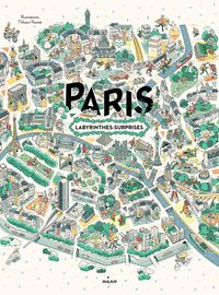 Couverture « Paris, labyrinthes-surprises »