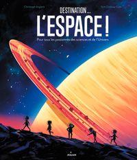 Couverture «Destination… l'espace !»