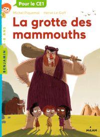 Couverture «La grotte des mammouths»