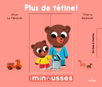 Cover of « Plus de tétine »